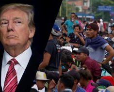 caravan of Central American migrants